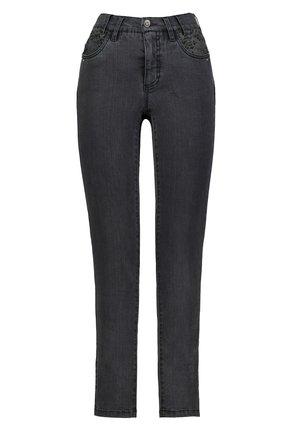 ZIERSTEINE - Slim fit jeans - schwarz