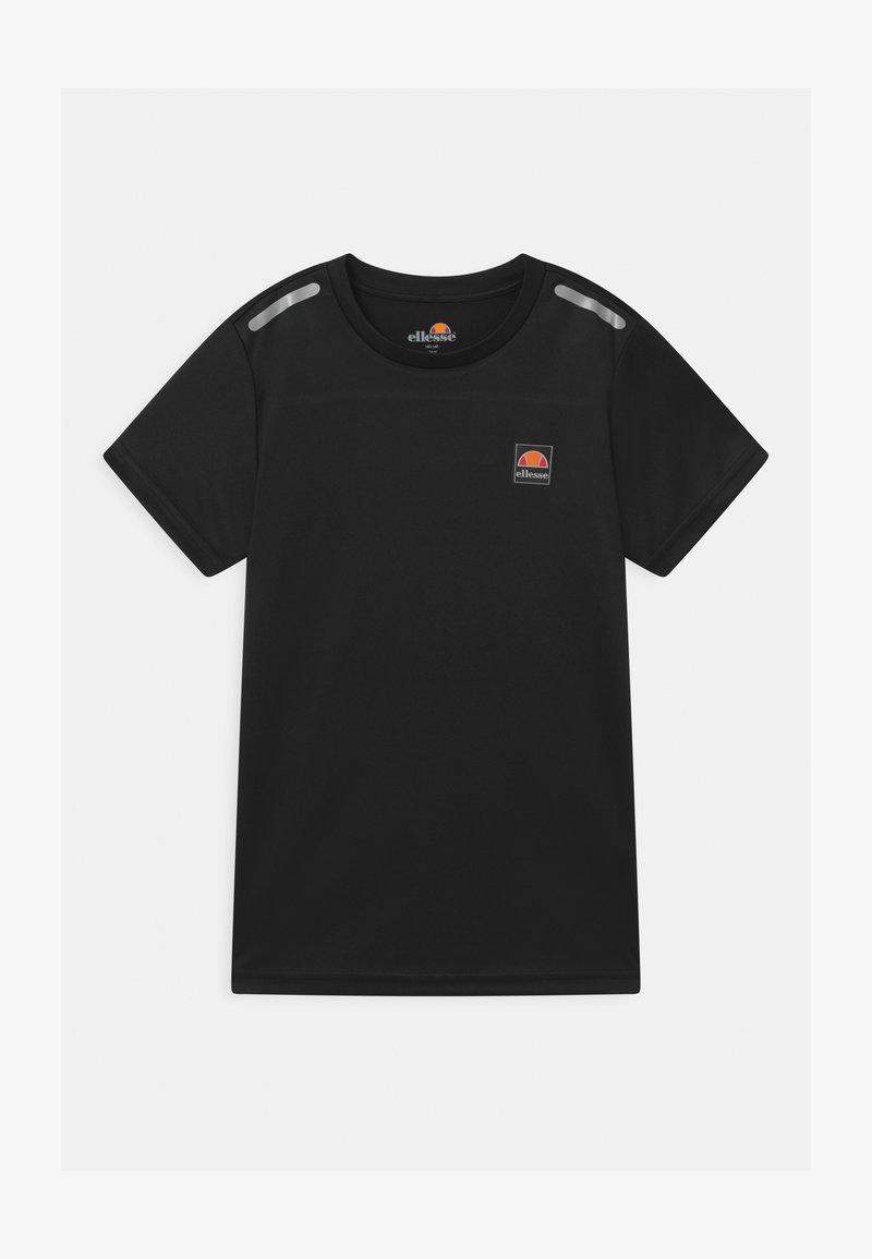 Ellesse - ROLLO UNISEX - Print T-shirt - black