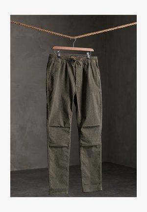 Pantaloni - Base Olive Dogstooth