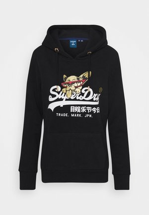 PHOTO HOOD - Hoodie - black