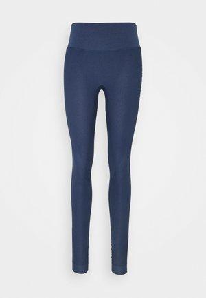SEAMLESS BEAM - Leggings - blau