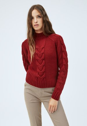 SILA - Sweter - johannisbeere