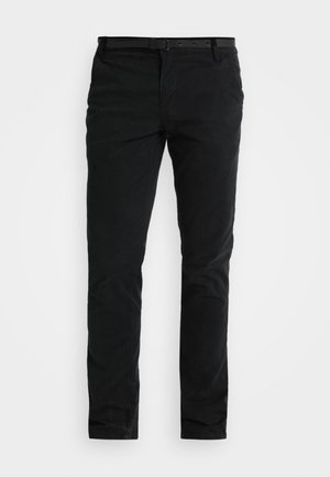CLASSIC WITH BELT - Chinot - black