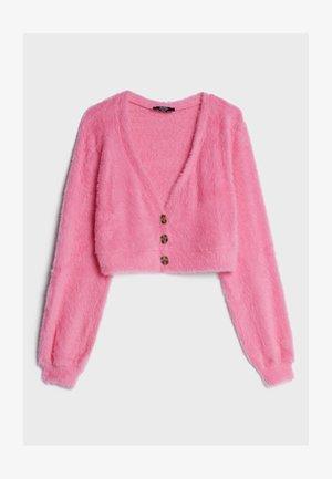 FUZZY - Cardigan - neon pink
