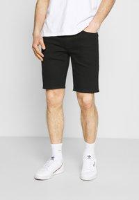 Levi's® - 405 STANDARD  - Jeansshorts - all black - 0