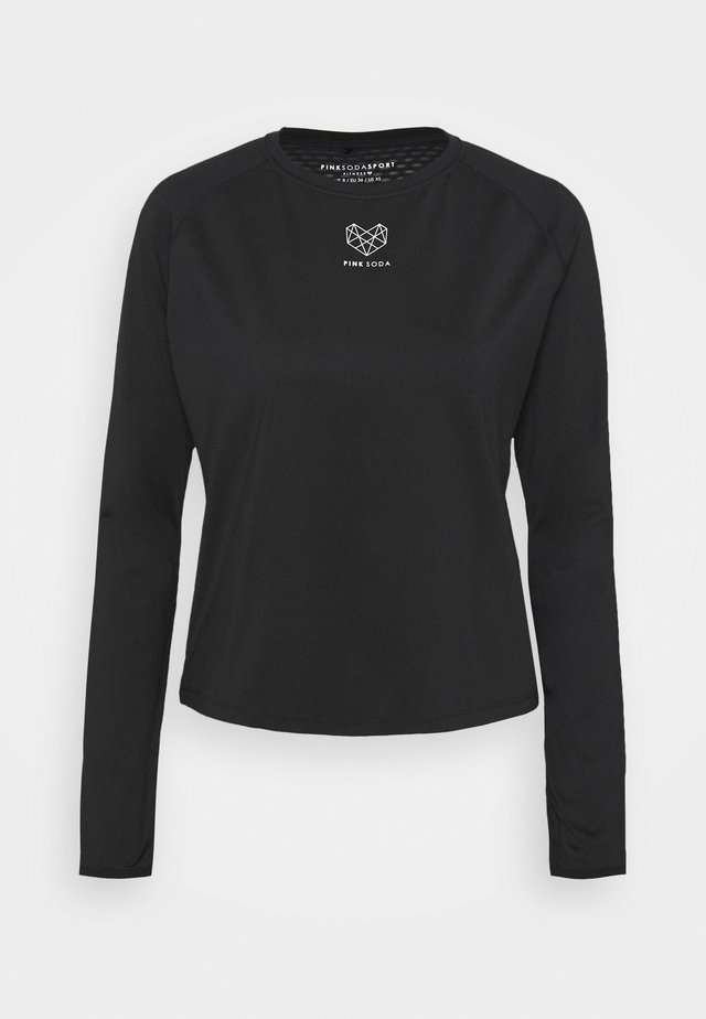 MEDLEY FITNESS - Long sleeved top - black