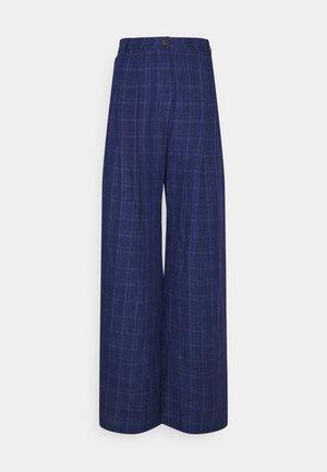 SIRID TROUSERS - Trousers - blue