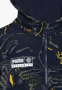 Puma - ALPHA JACKET  - Zip-up hoodie - peacoat - 4