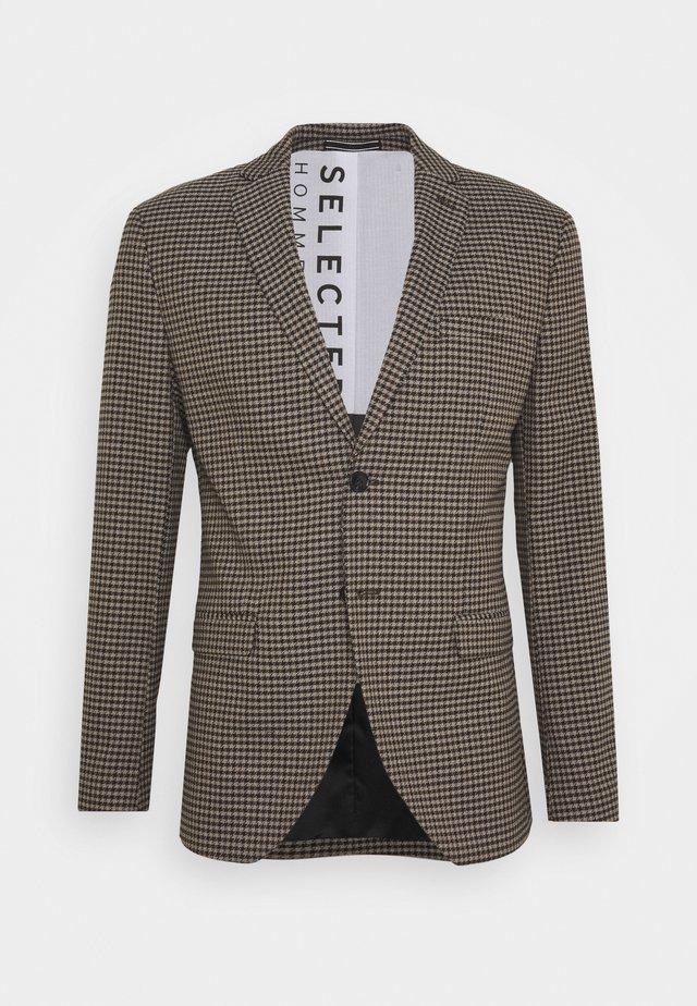 JACK - Blazer jacket - brownie/multi color