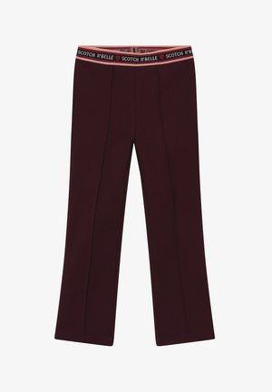FLARE - Leggings - Trousers - plum
