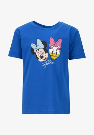 MICKEY MOUSE & FRIENDS - Print T-shirt - blue