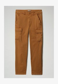 Napapijri - MOTO - Cargo trousers - chipmunk beige - 4