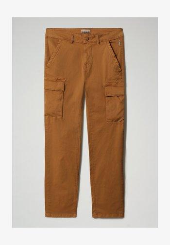 MOTO - Cargo trousers - chipmunk beige