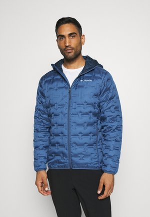 DELTA RIDGE HOODED JACKET - Untuvatakki - night tide