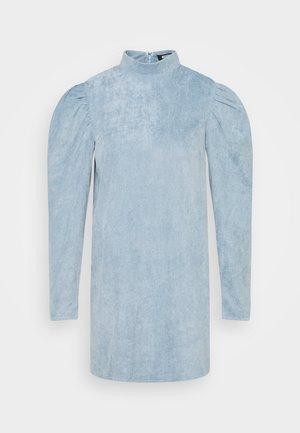 HIGH NECK DRESS  - Kjole - powder blue