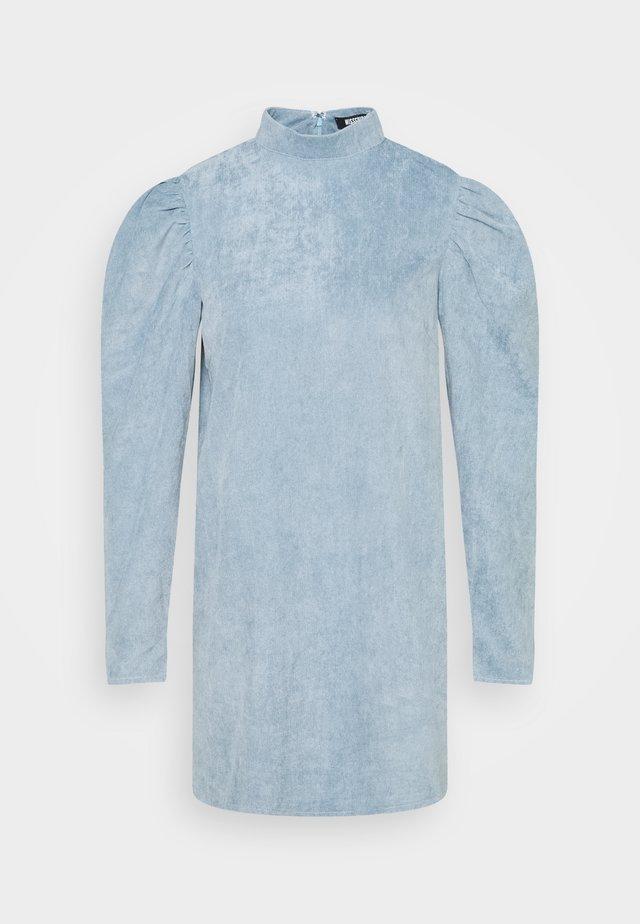 HIGH NECK DRESS  - Denní šaty - powder blue