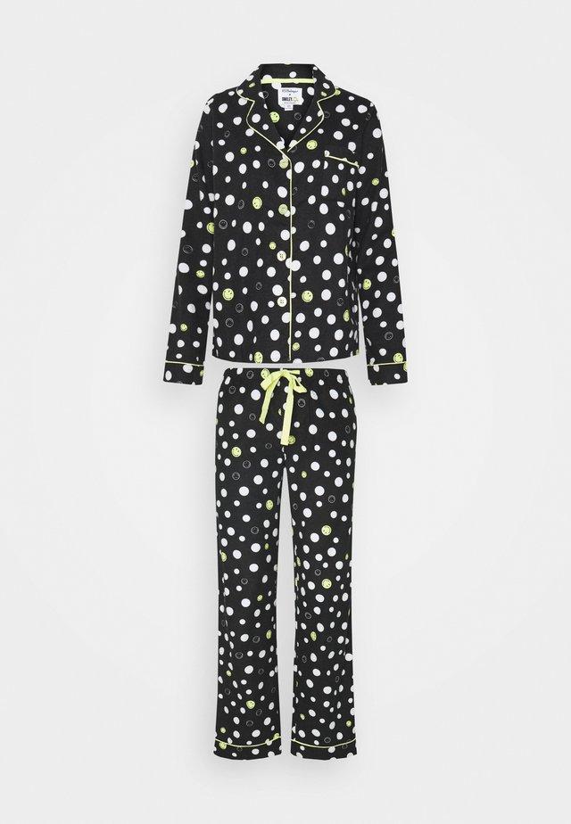 SET - Pyjama - schwarz