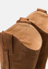 Selected Femme - SLFLOUISE  - Cowboy/Biker boots - cognac - 5