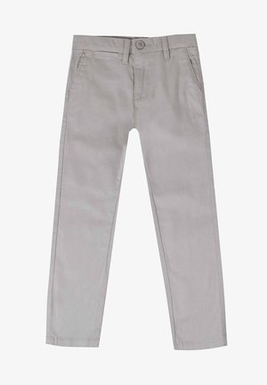 Trousers - gris claro