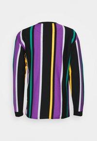 Karl Kani - UNISEX SIGNATURE STRIPE LONG SLEEVE - Long sleeved top - black - 1