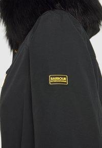 Barbour International - TOUCHDOWN JACKET - Parka - black - 4