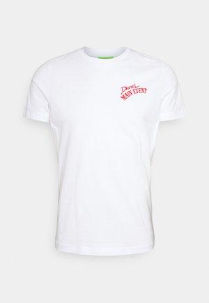 T-DIEGOS-K15 - T-shirt con stampa - white