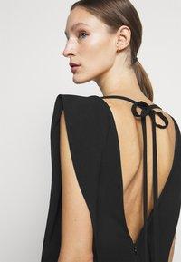 Victoria Beckham - DOUBLE FLARE MIDI - Cocktail dress / Party dress - black - 7