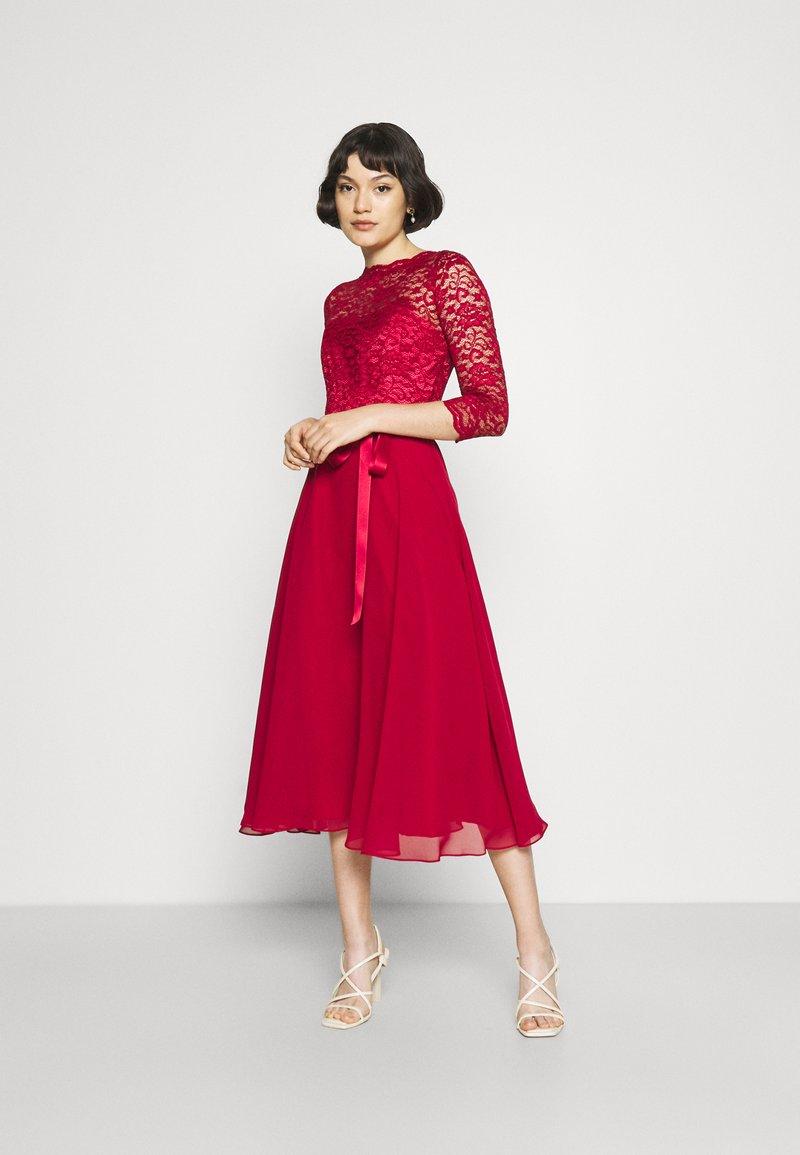 Swing - Cocktail dress / Party dress - burgundy