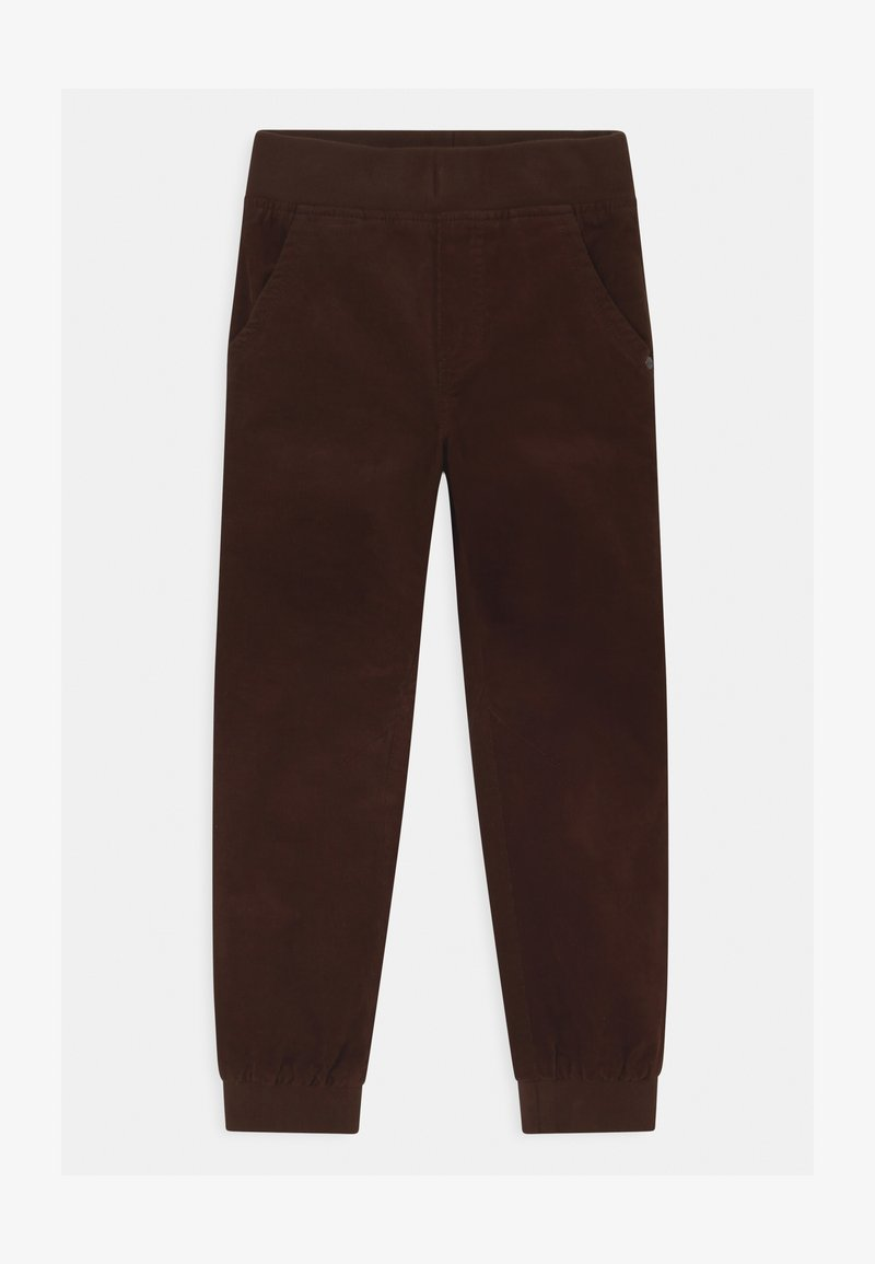 Lindex - MINI CONNY - Trousers - dark brown