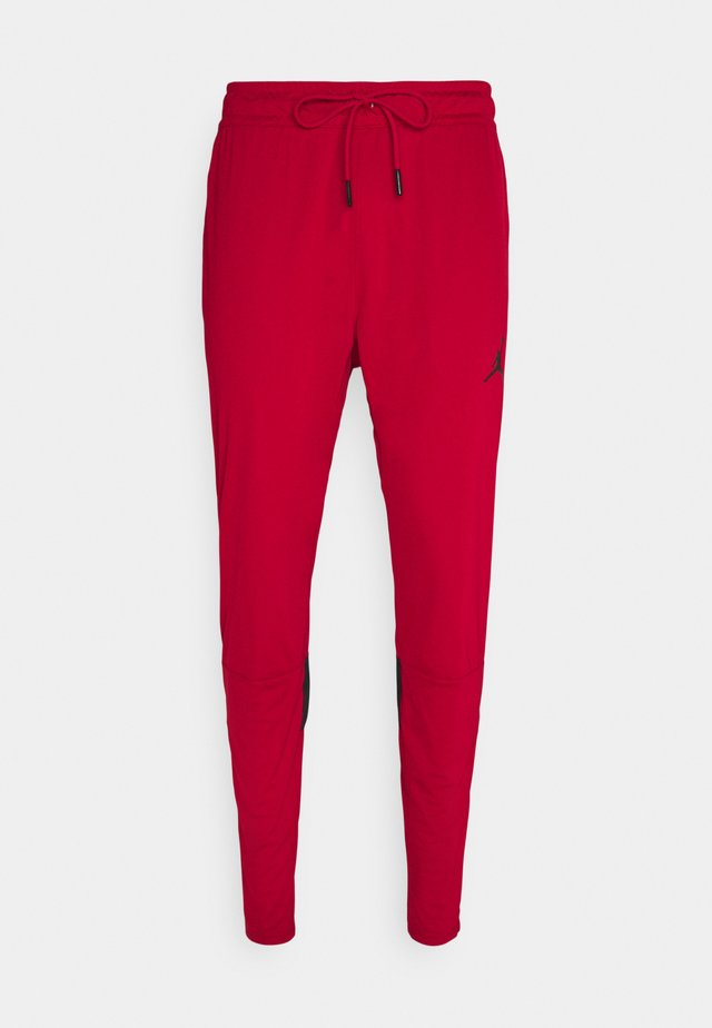 DRY AIR PANT - Joggebukse - gym red/black
