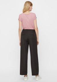Vero Moda - VMAVA PLAIN - T-shirt basic - pink - 2