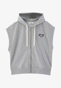 PULL&BEAR - Waistcoat - mottled grey - 5