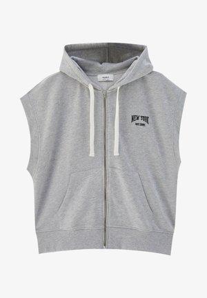Waistcoat - mottled grey