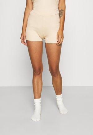 LULU SHORTS - Pyjamabroek - light beige