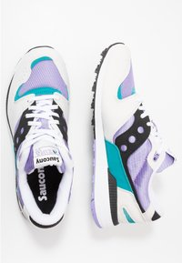 Saucony - AZURA - Sneakers laag - white/voilet/capri - 1