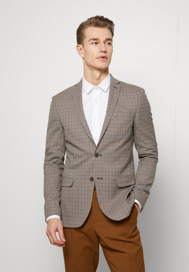 HERITAGE GINGHAM - Blazer jacket - brown
