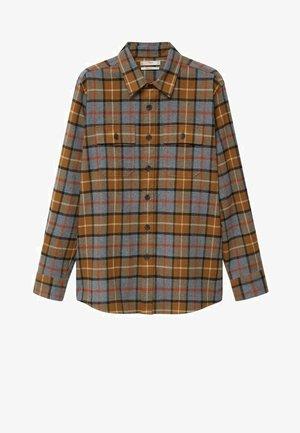 CALI - Overhemd - middenbruin