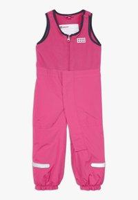 LEGO Wear - LWPUELO - Snowsuit - dark pink - 0