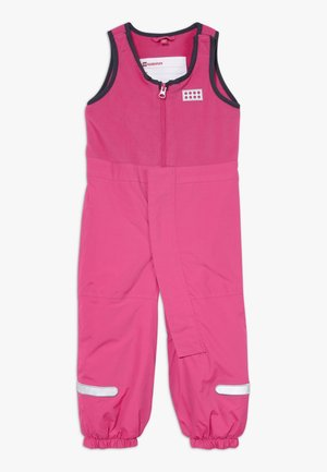 LWPUELO - Snowsuit - dark pink