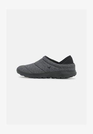 GO WALK LOUNGE - Slippers - black/gray