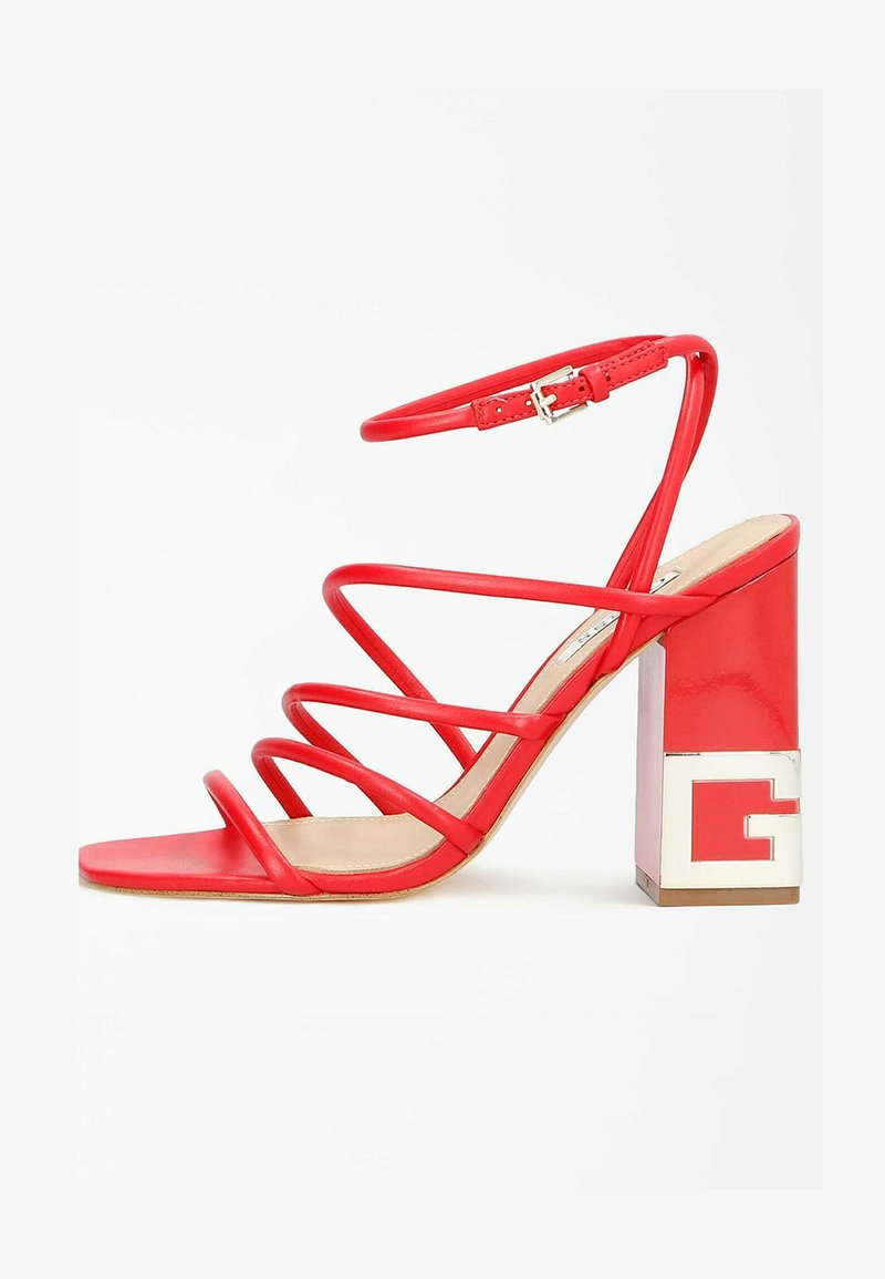 Guess - TACEY - Sandals - rot
