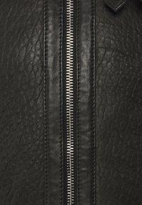 Be Edgy - AUSTIN - Leather jacket - black/white - 3
