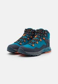 Hi-Tec - VERVE MID WP - Hiking shoes - navy/sapphire/orange - 1