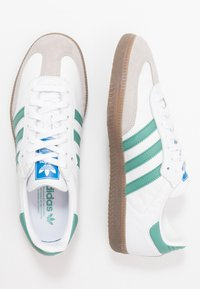 adidas Originals - SAMBA - Tenisky - footwear white/core grani - 1