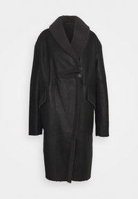 VSP - CURLY FLORANCE - Płaszcz zimowy - black/antracite - 0