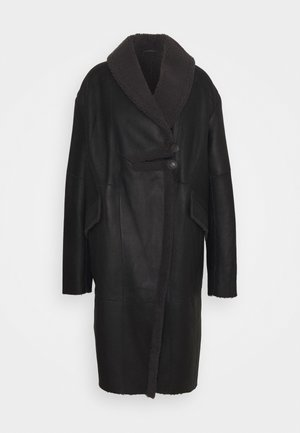 CURLY FLORANCE - Winter coat - black/antracite