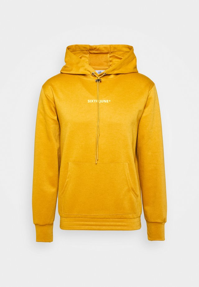 CONTRAST LOGO HOODIE - Jersey con capucha - must