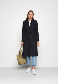 IVY & OAK - DOUBLE COLLAR COAT - Classic coat - navy blue - 1