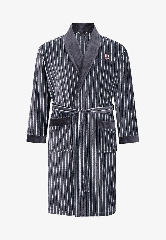 GARWIN - Dressing gown - grey/white