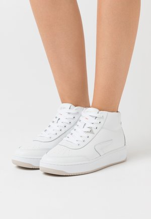 BASELINE MID - High-top trainers - white/bone